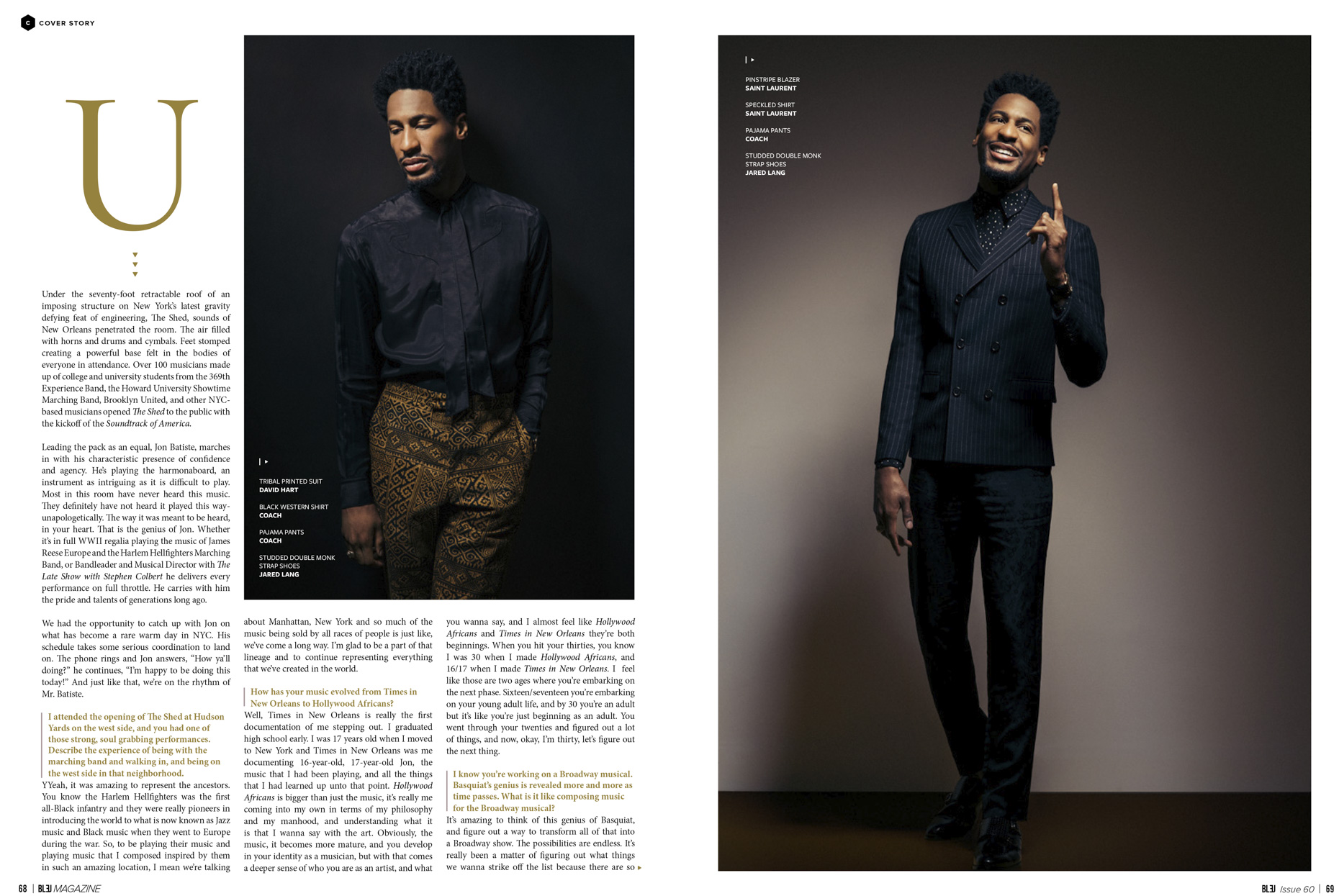 Jon Batiste \\ Andrew Zaeh Photo + Motion